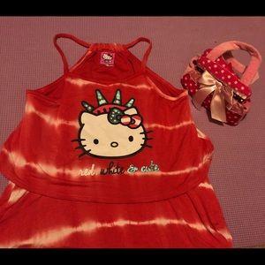 Hello Kitty Dress for Girls